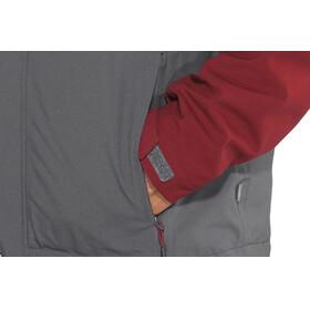 Meru M's Lund Waterproof 3 in 1 Strech Jacket Ombre Blue